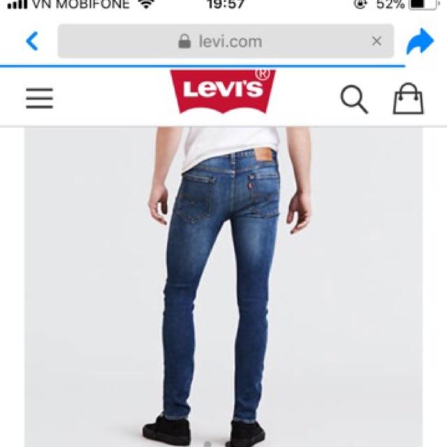 Quần Jean Levi's Nam new 100%