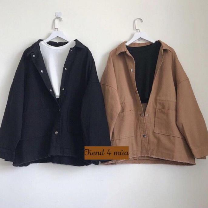 áo khoác kaki nữ 1 lớp 0018