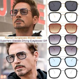 Spiderman Far From Home Iron-Man Glasses Movie Peter Parker Cosplay Spider Man Edith Men's Polarozed Sunglasses
