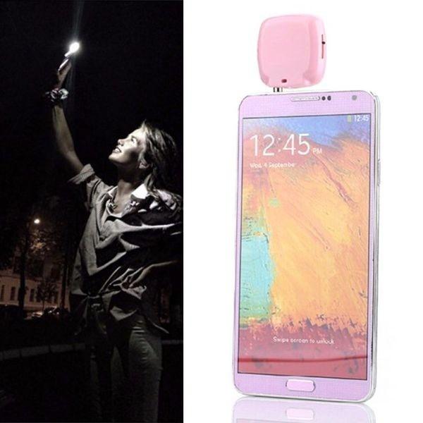 Đèn flash rọi sáng hỗ trợ chụp ảnh selfie cho IPhone 6 5 4 Samsung