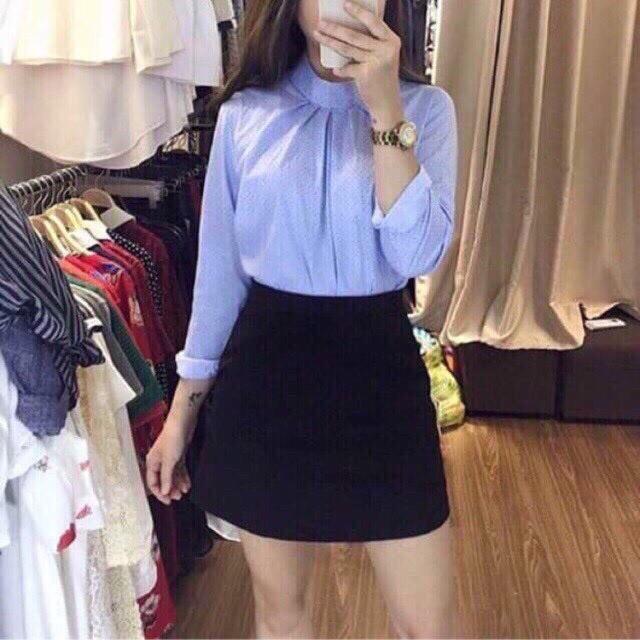 [Rẻ Hủy Diệt ⚡Flash Sale⚡ Chân Váy Ngăn Chữ A Siêu Xinh S216 (Số Lượng Có Hạn)