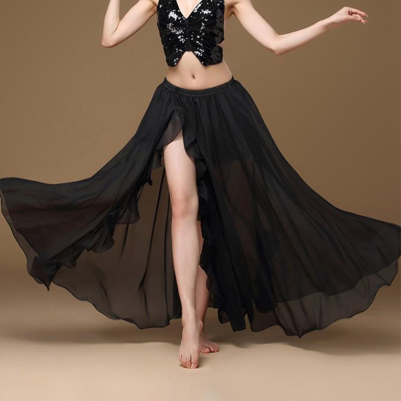 3430854351 - Chân Váy Dáng Xòe Phối Bèo Xinh Xắn Dành Cho Nữ
