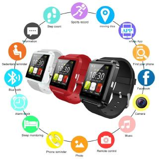 1pcs/2pcs/3pcs Smartwatch Bluetooth Smart Watch U8 For iPhone IOS Android Smart Phone Wear Clock Wearable Device