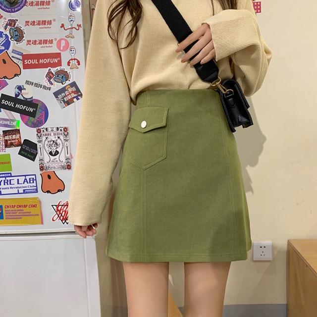 Chân váy nữ thời trang thiết kế đơn giản, thanh lịch NV0053
