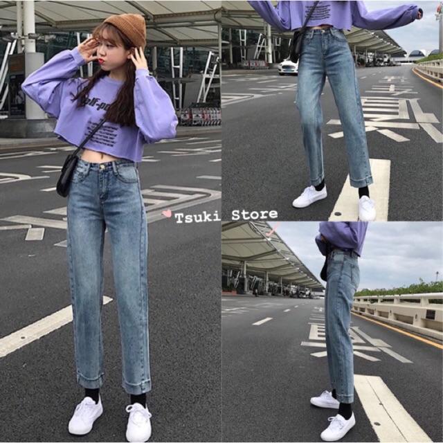 Quần jeans ulzzang