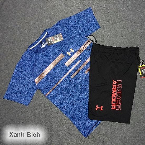 [Giá gốc tận xưởng] Bộ áo thun thể thao Nam Under Amour - coton 4 chiều - thoáng mát - thoải mái