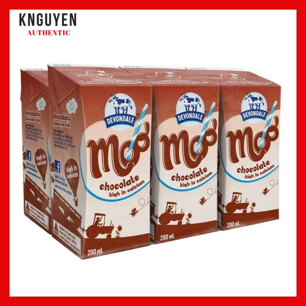 Sữa tươi Devondale Úc 200ml