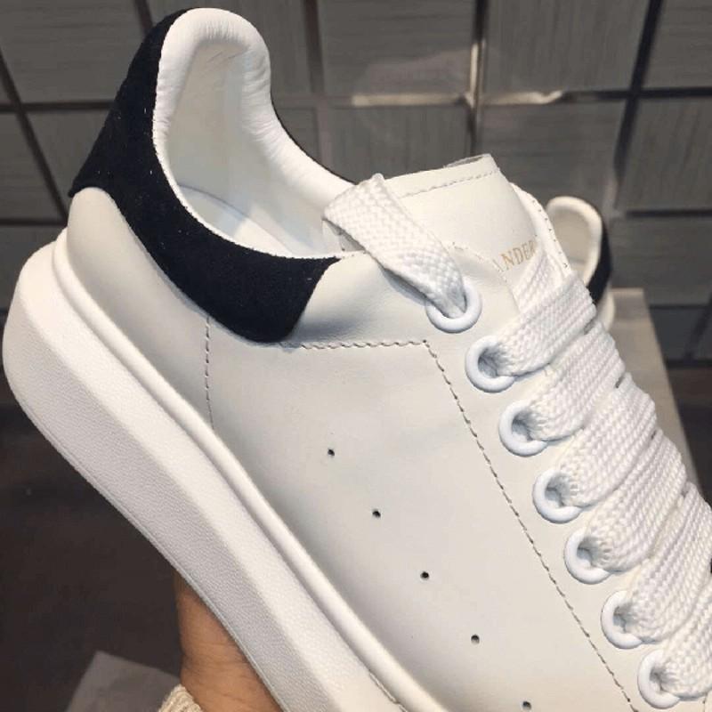 Giày thể thao,Sneakers nam MC.Q trắng gót đen,đế độn giúp tăng chiều cao T92