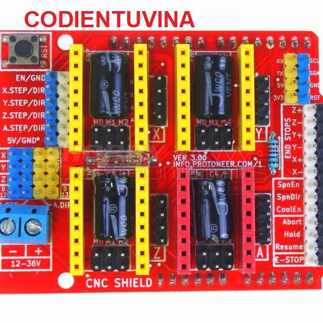CNC Shield V3 Điều Khiển Máy CNC Mini