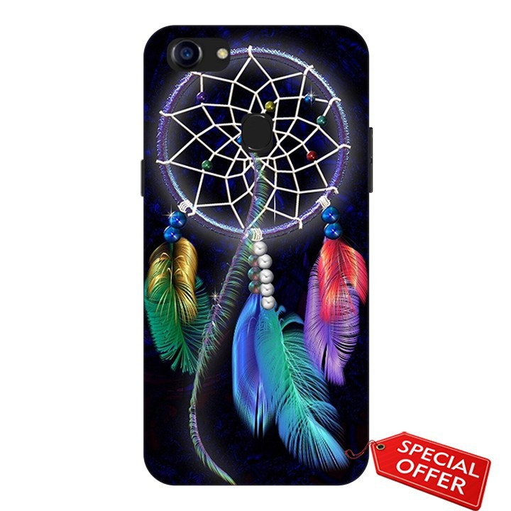 Ốp lưng Oppo F5- nhựa dẻo Silicone in hình Dreamcatcher (The heirs)