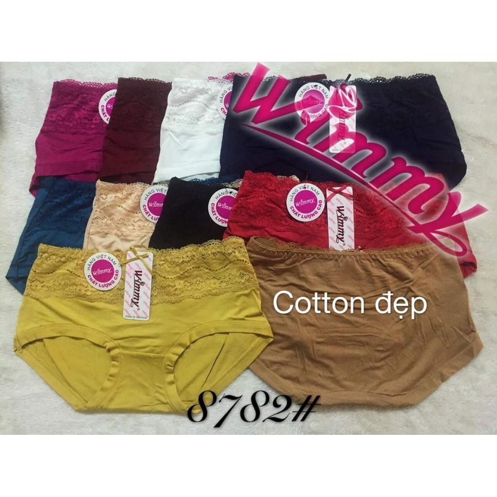 Combo 10 quần lót cotton nữ phom to 60-70kg