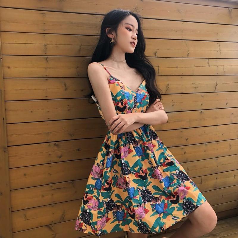 Order, mã sp:D24051, Summer 2018, đầm mùa hè, Korean style