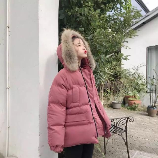 Áo phao siêu ấm dáng rộng Hàn Quốc