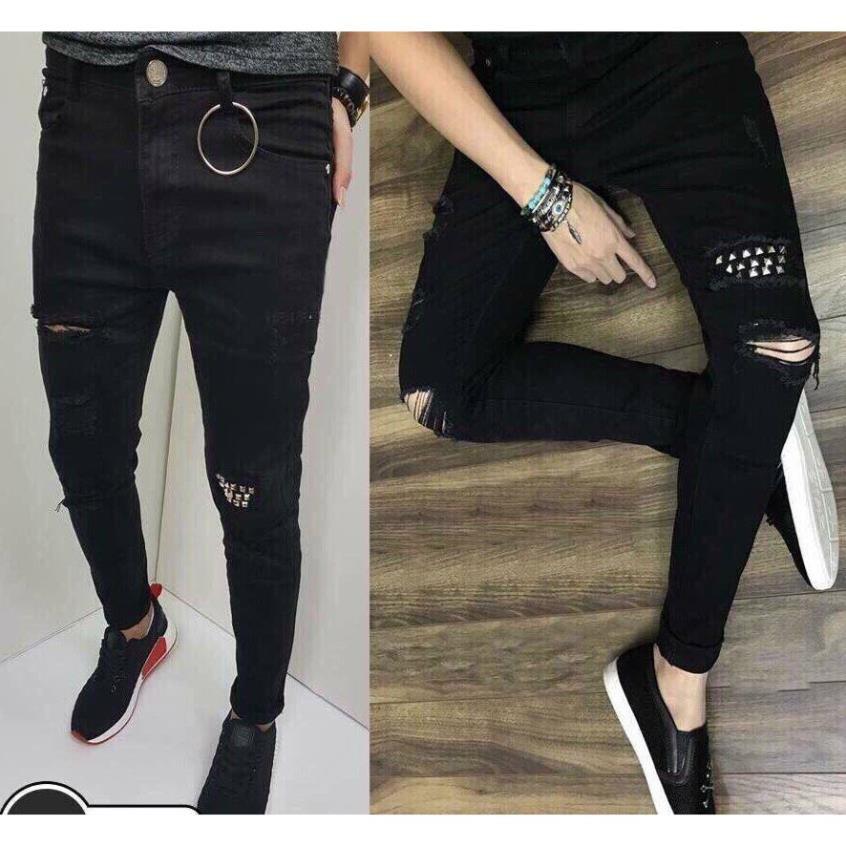 Quần Jean Nam Hàng Hiệu Cao Cấp Không Ra Màu Co Giãn mua quần jean nam ở sài gòn quần jean nam 1 màu hk10 .Hàng Chất