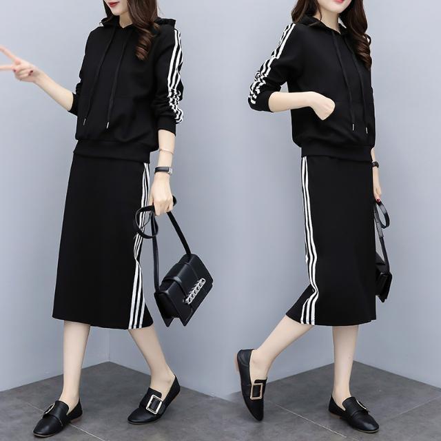 Bộ áo thun tay ngắn + váy dáng ôm năng động cho nam