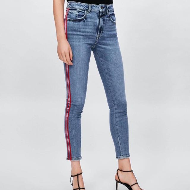 Quần jean Zara auth sz 34 có sẵn lên dáng đẹp
