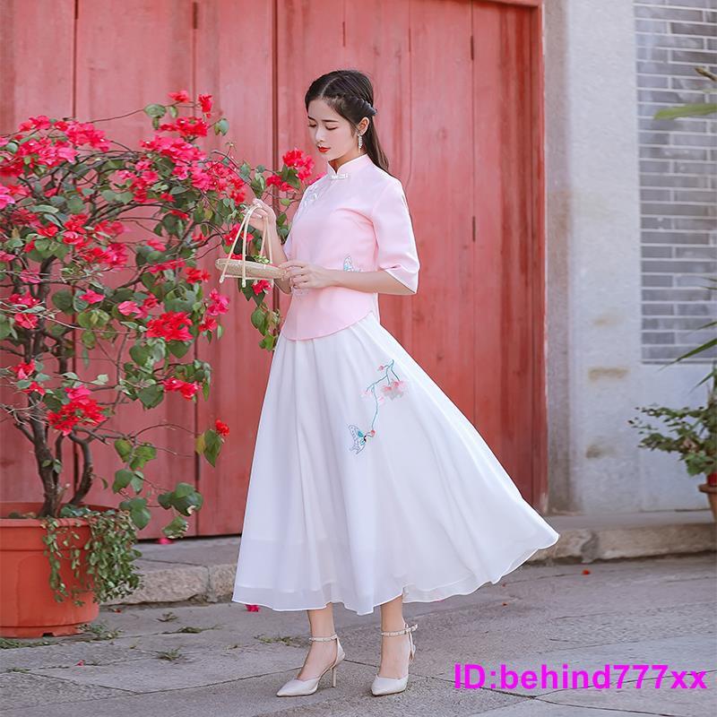 Chân Váy Voan Thêu Họa Tiết Xinh Xắn Dành Cho Nữ 2020