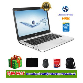 Laptop HP Folio 9470m core i5/4/128G  99%