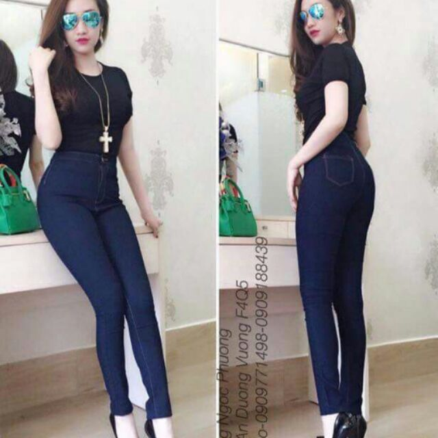 Quần jeans 1nút F21