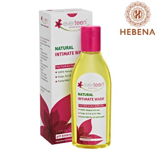 Dung dịch vệ sinh phụ nữ - Everteen Natural Intimate Wash - hebenastore