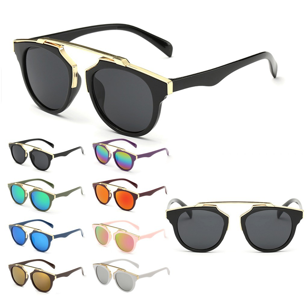 Fashion Anti-UV Sunglasses Kids Shades Goggle Glasses