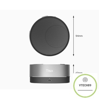 Loa  Bluetooth kim loại mini Tis
