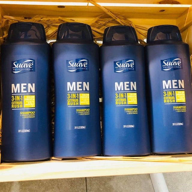 Dầu gội suave men 3in1