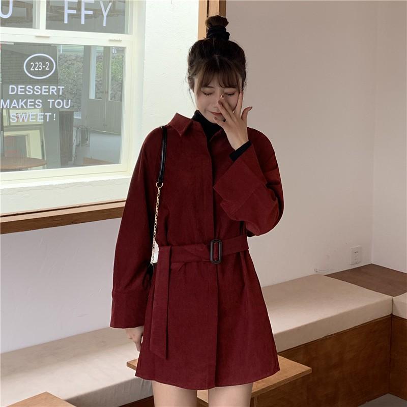 Chân Váy Thời Trang Retro Hàn Quốc 2020