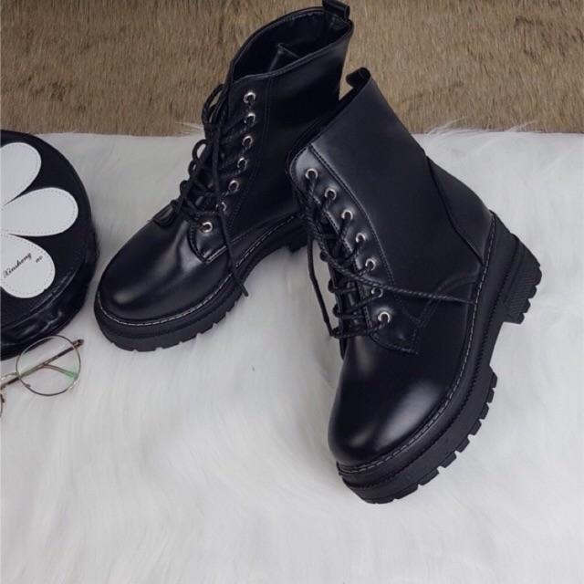 Giày mùa đông Martin cổ cao lót nhung
