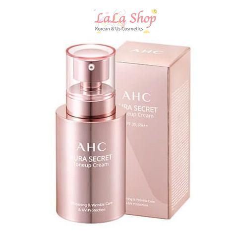Kem Dưỡng AHC Trắng Hồng Da Aura Secret Tone Up Cream