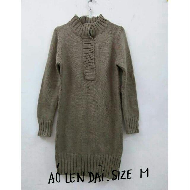 Áo len màu xám size M