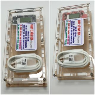 Box meca - mạch lcd 2.0 - 5 pin 26650