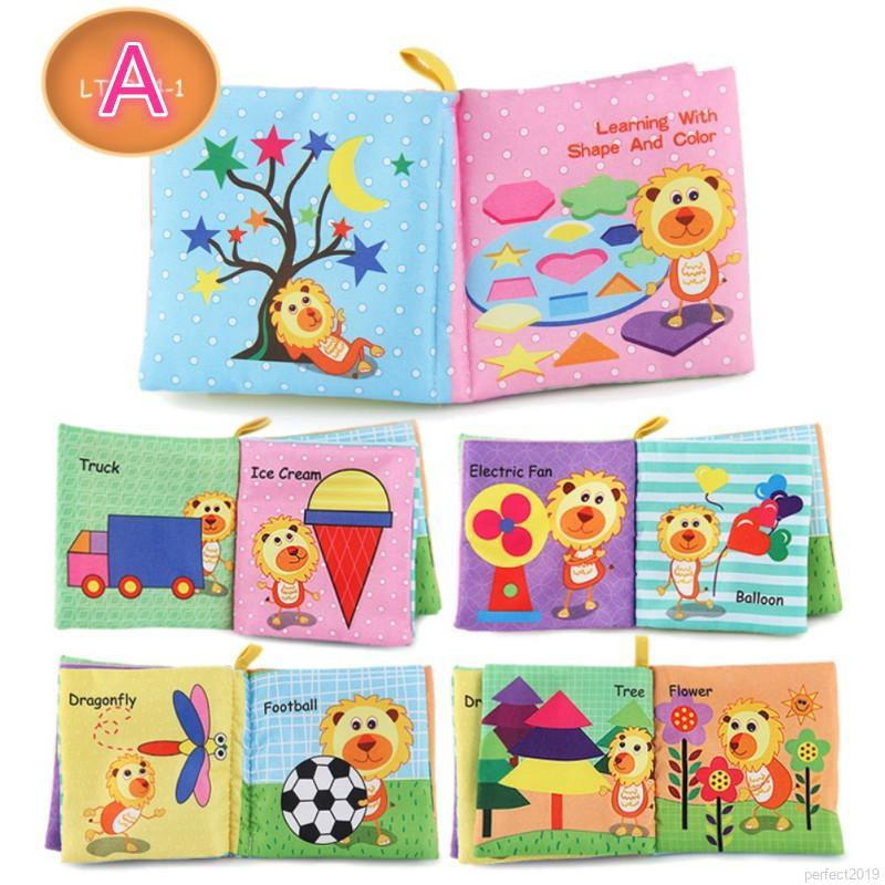 perfect Baby Cloth Books Educational Toys English Cognitive Palm Books