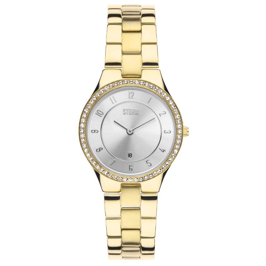 Đồng hồ thời trang Nữ Storm SLIM X CRYSTAL GOLD