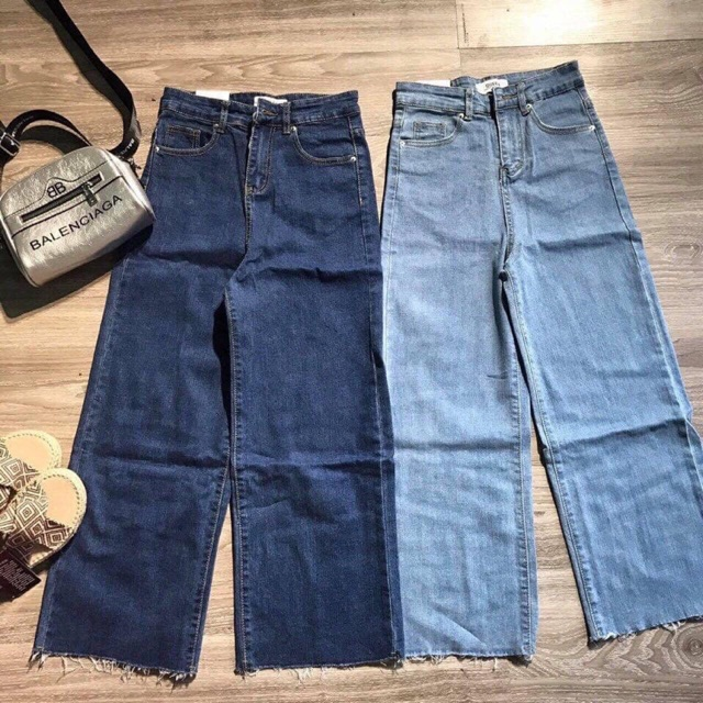 Quần jeans suông