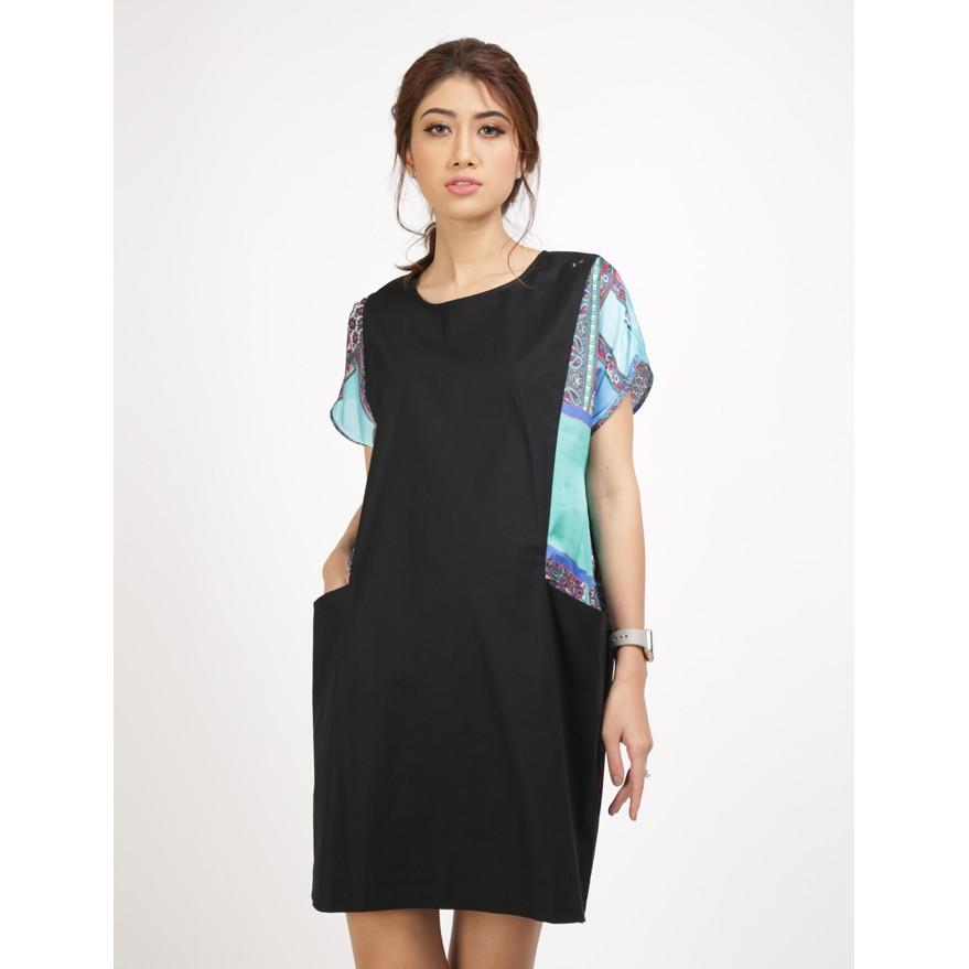 Đầm bầu công sở thời trang AnnaNina - 509050 ( màu đen)