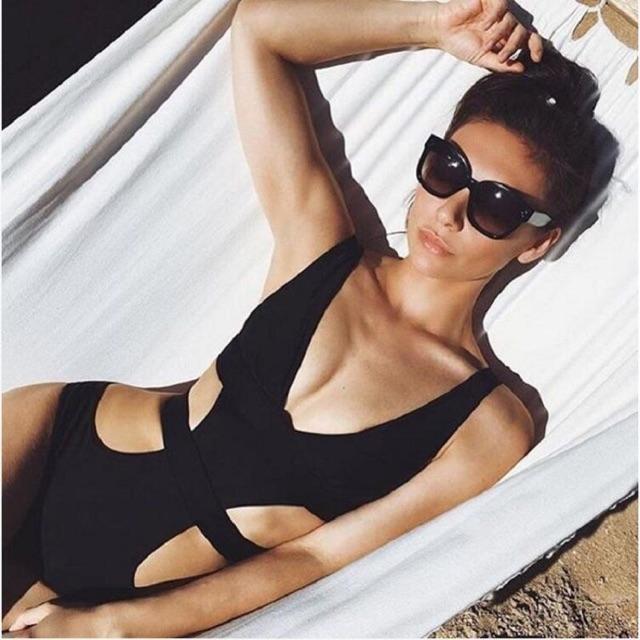 Bikini đồ bơi áo tắm một mảnh thiết kế độc đáo CÓ ẢNH THẬT A79-1