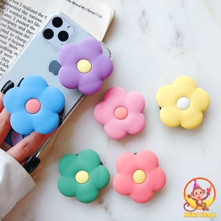 Hình ảnh Expanding Phone Stand Holder Mobile Phone Stand Bracket Silicone Cute Flower Candy Color Phone Holder Finger Ring Holder