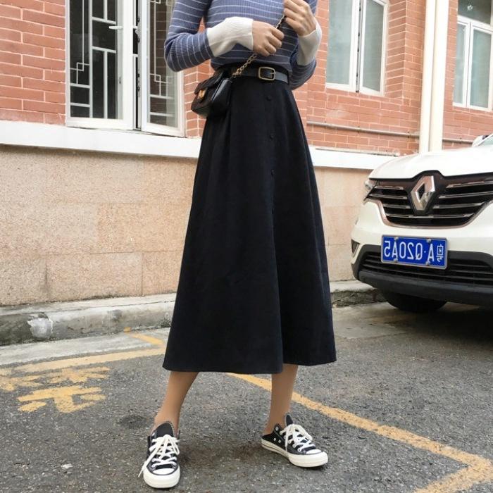 đầm nữ dài form rộng thời trang hàn