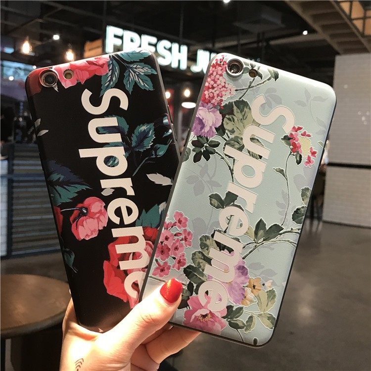 Samsung Galaxy A7 2018 S8 S9 S10 Plus Note 8 9 S8+ S9+ S10+ S10e Supreme Flower 3D Soft TPU Phone Back Case Cover