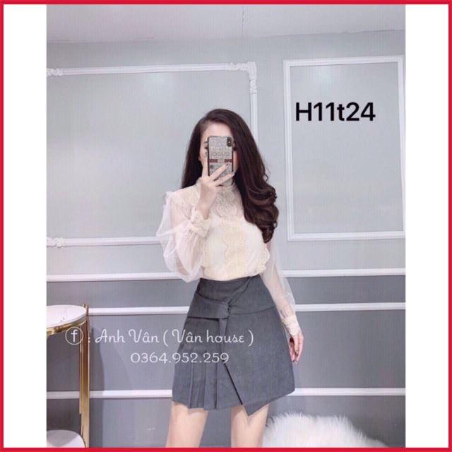 [Top Hot] Chân váy dạ mã 6678