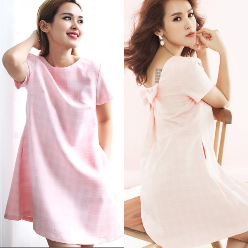 váy bầu, đầm bầu, đầm bầu thời trang giá rẻ