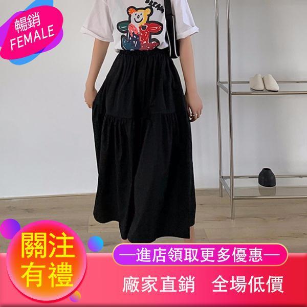Chân Váy Dài Lưng Cao Xếp Ly Thời Trang 2020 Cho Nữ