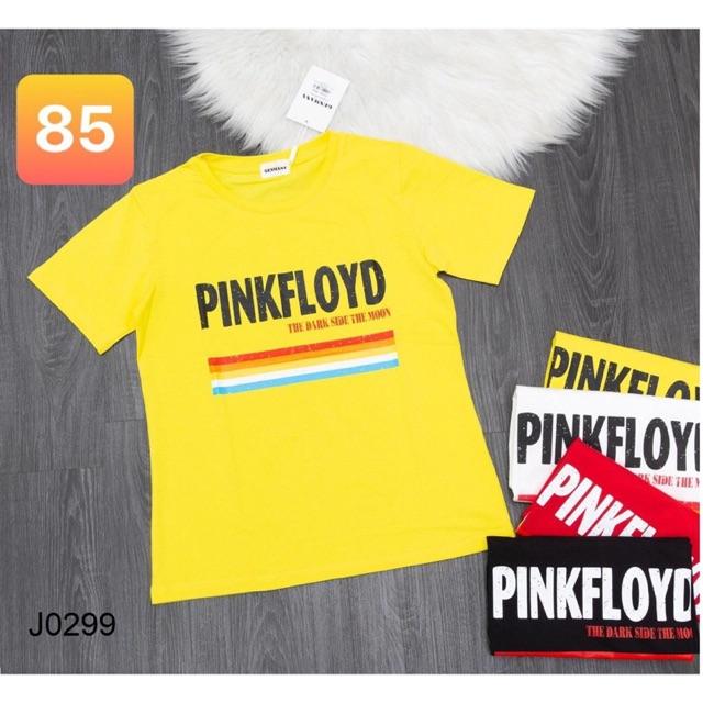 Áo thun nữ freesize PINKFLOYD thời trang 100% cotton - áo thun tay ngắn