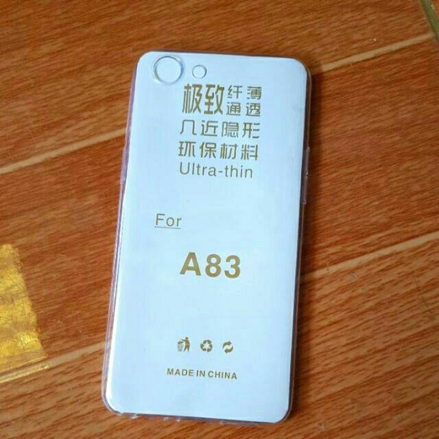 Bộ 3 ốp dẻo silicon Oppo A83