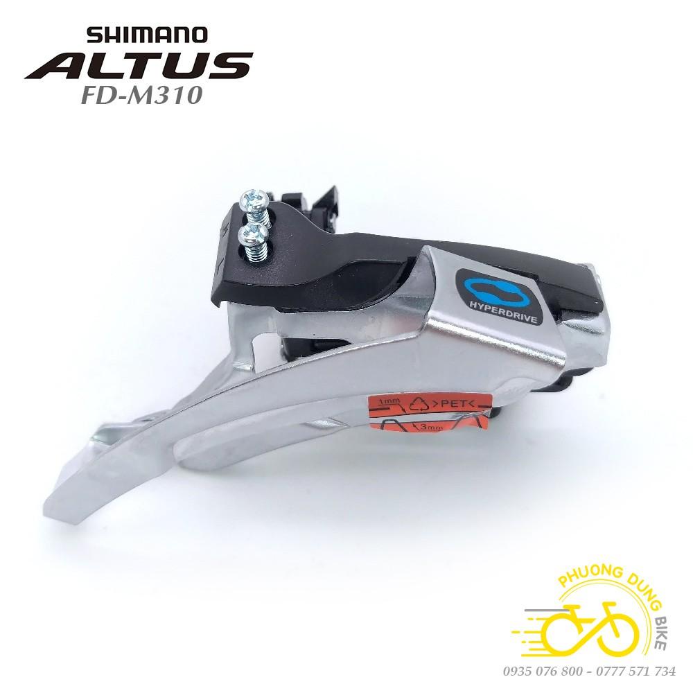 Sang đĩa xe đạp Shimano Altus FD-M310 - Hàng chính Hãng