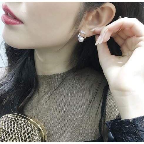 Bông tai ngọc đá-BT0010