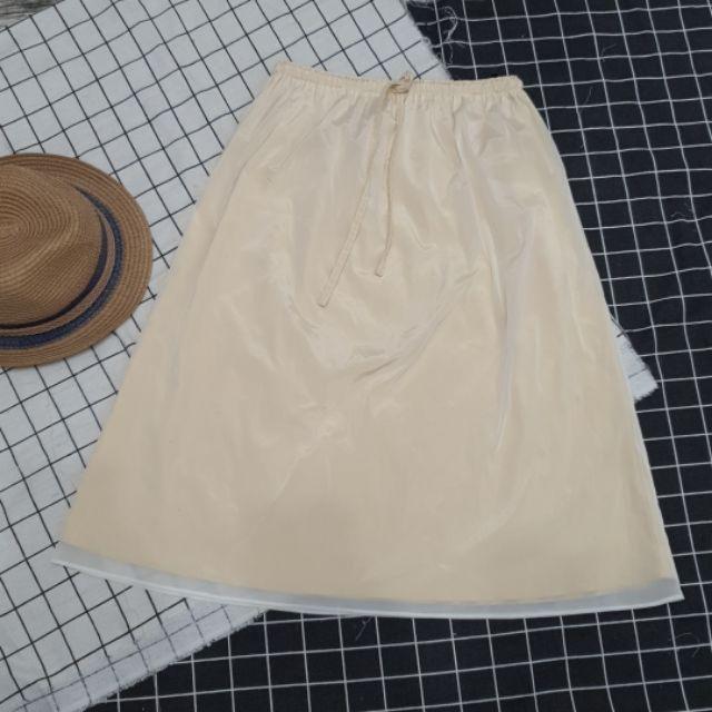 Chân váy 2 lớp phối lưới đẹp độc lạ mới