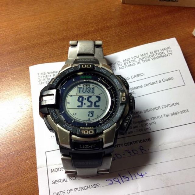 Đồng hồ Protrek PRG-270G