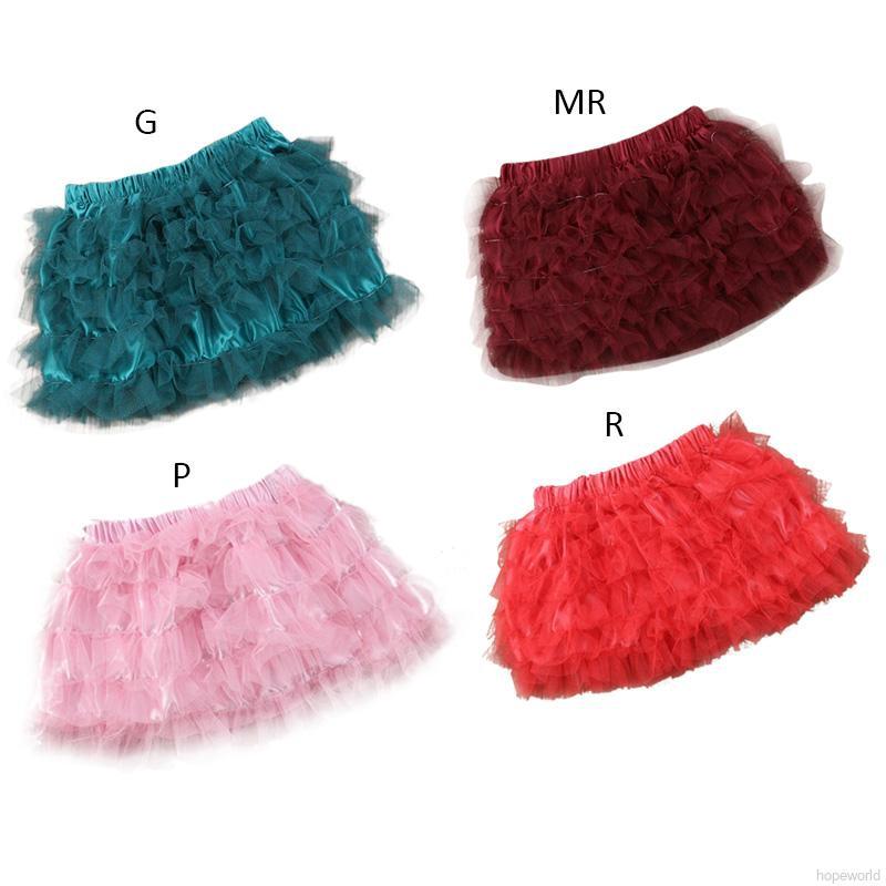 Chân Váy Tutu Nhiều Màu Sắc Cho Bé Gái